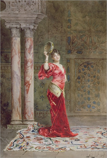 an-eastern-dancer-Alexandre-Louis-Leloir
