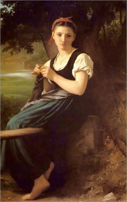bouguereau_william_the_knitting_girl