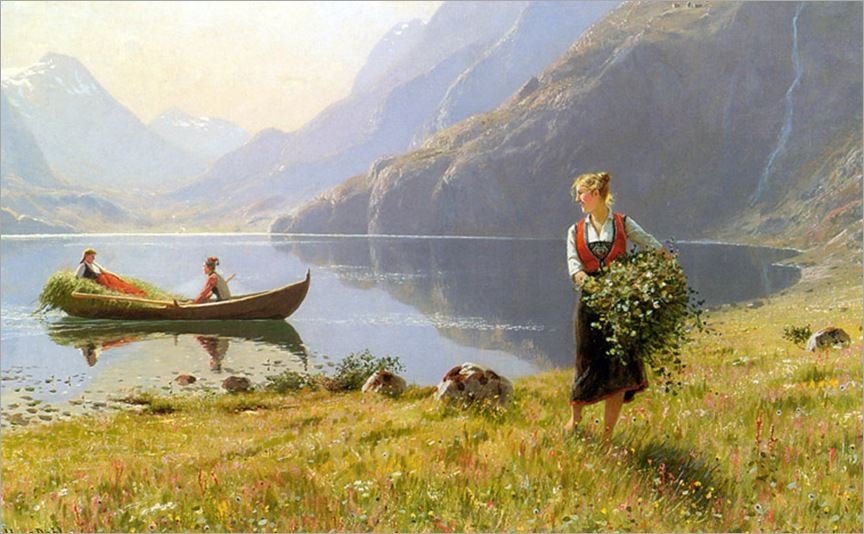 HANS DAHL - Nas margens do fiorde