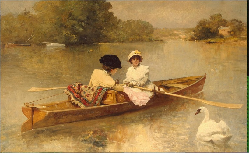Heilbuth_Ferdinand-Rowing_on_the_Seine