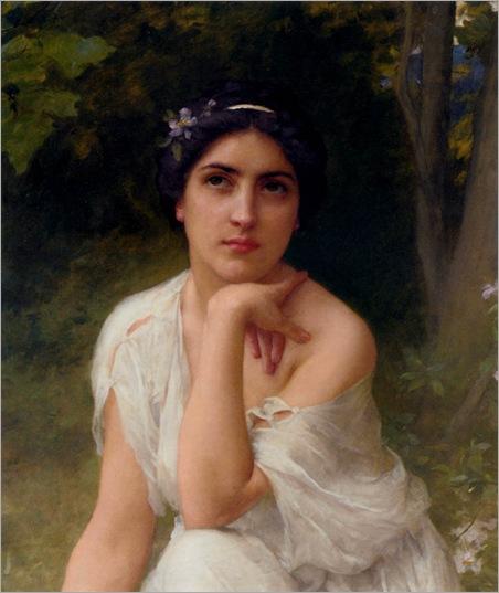 Lenoir,_Charles-Amable_-_Pensive