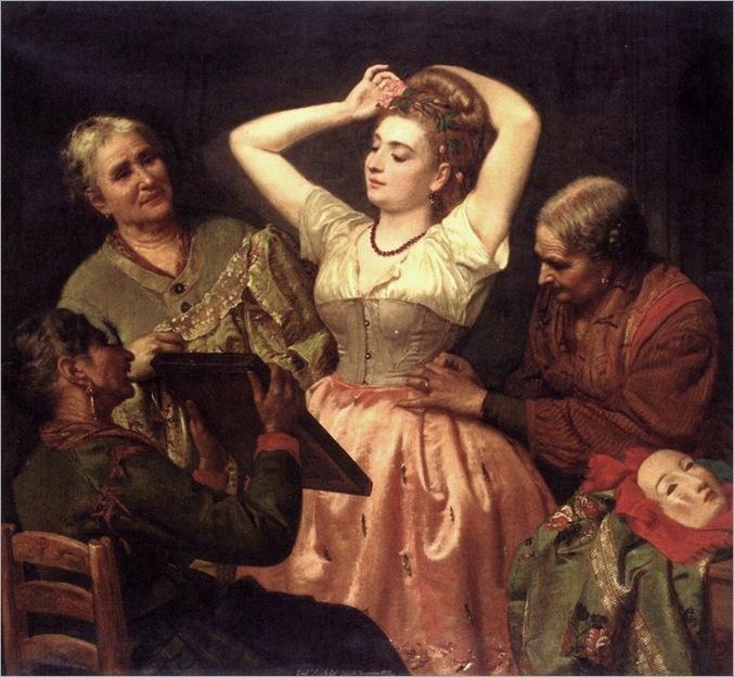 Locatello_Gian_Francesco_Preparing_For_The_Carnevale_1872