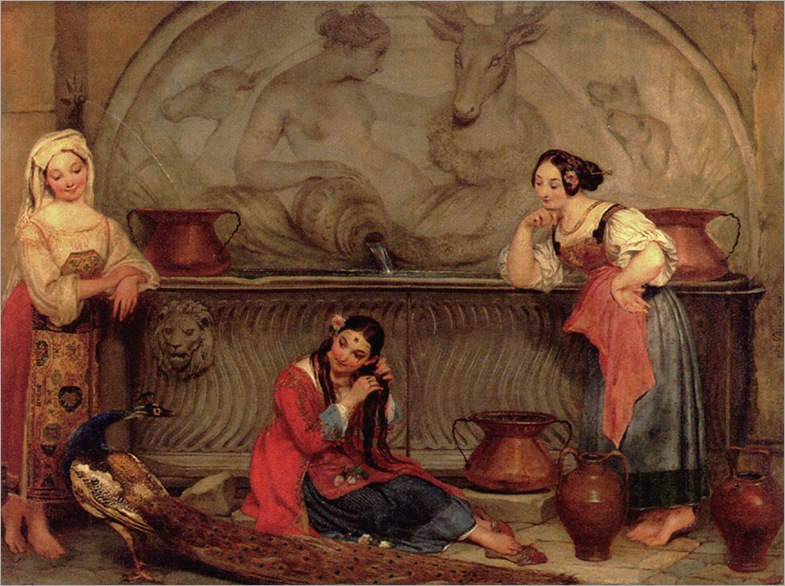 PhilippeJacquesVanBree_oriental_beauties_by_a_fountain
