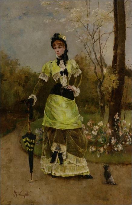 Stevens_Alfred_Sa_majeste_la_Parisienne_1880