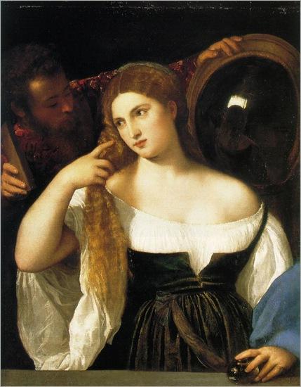 TICIANO_woman_mirror-ca.1515