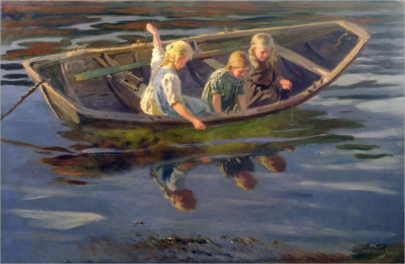 wilhelm-peters-crabfishing-christiania