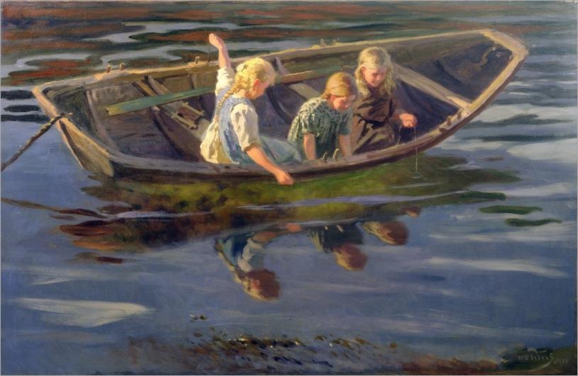 wilhelm-peters-crabfishing-christiania