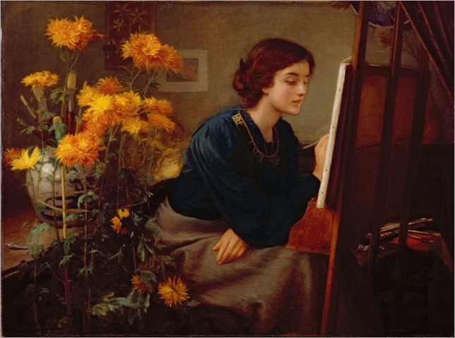 at-the-easel-James-N-Lee