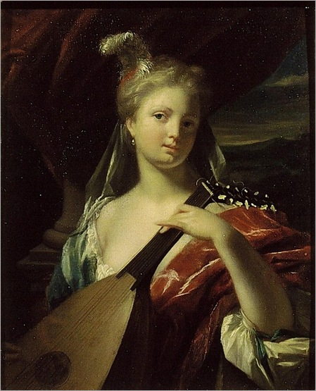 Dijk_Philip_van_Portrait_of_Young_Girl_with_Lute