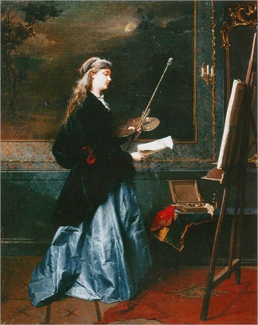 domenico-induno-the-painter