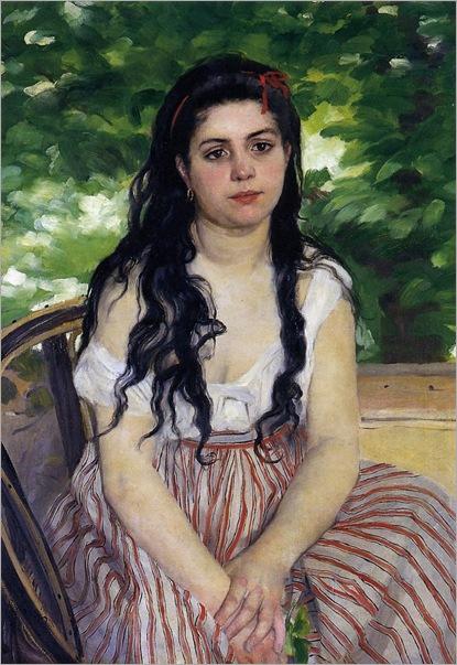 Gypsy-Girl,-Summer-1868,-by-Pierre-Auguste-Renoir