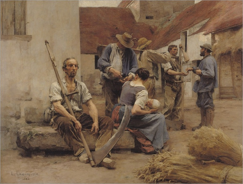 leon-augustin-lhermitte-paying-the-harvesters
