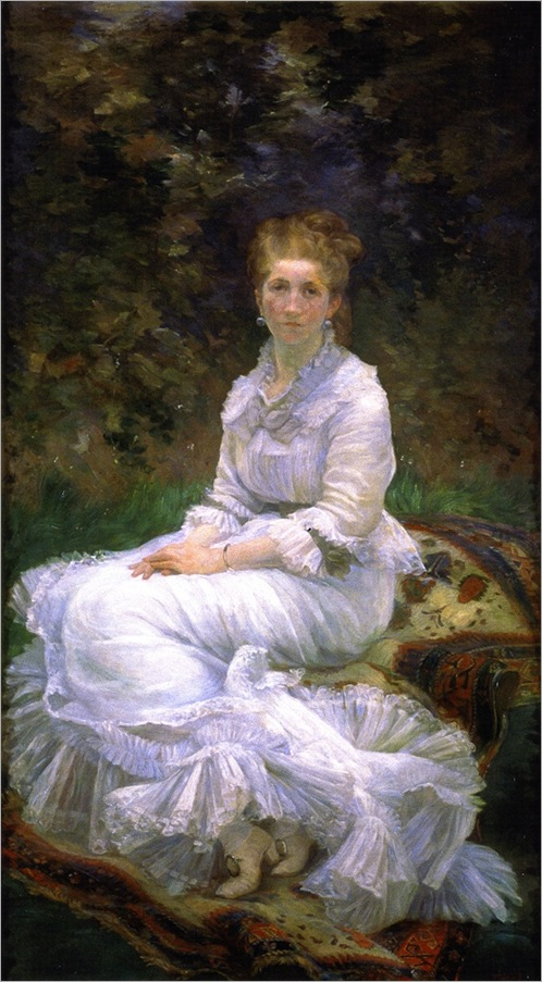 Marie Bracqemond - the-lady-in-white