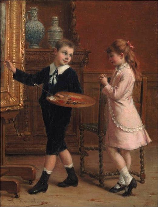 The young artist-albert-roosenboom-