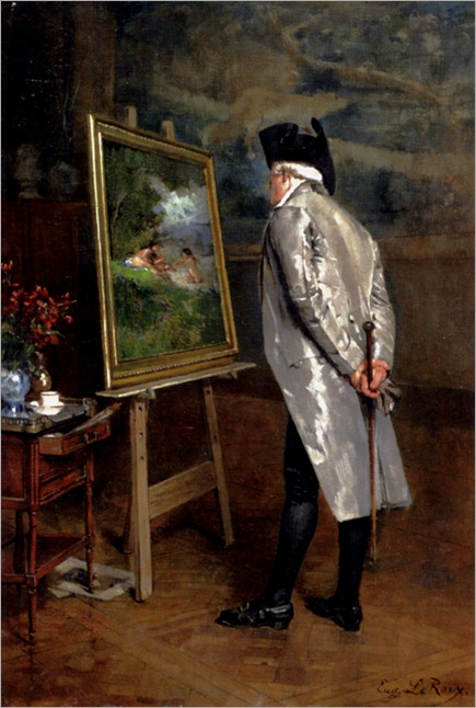 the_connoisseur-louis-eugene-leroux