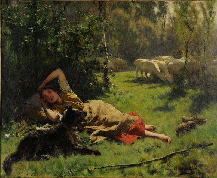 Evariste Carpentier-1885(barbizon-school)
