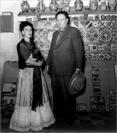 Frida-Kahlo-and-Diego-Rivera