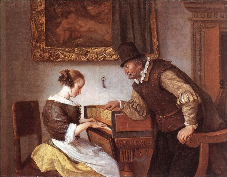JanSteen_the_harpsichord_lesson