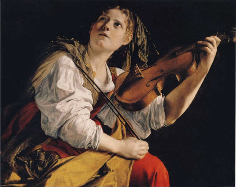 OrazioGentileschi_Young_Woman_Violin