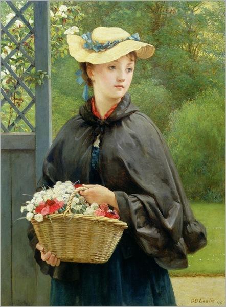 the-gardners-daughter-George-Dunlop-Leslie
