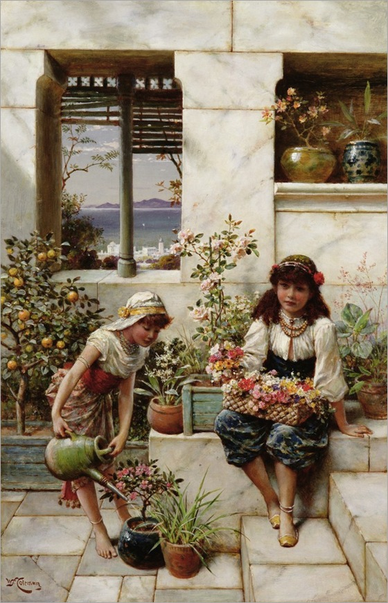 william-stephen-coleman-flower-girls-