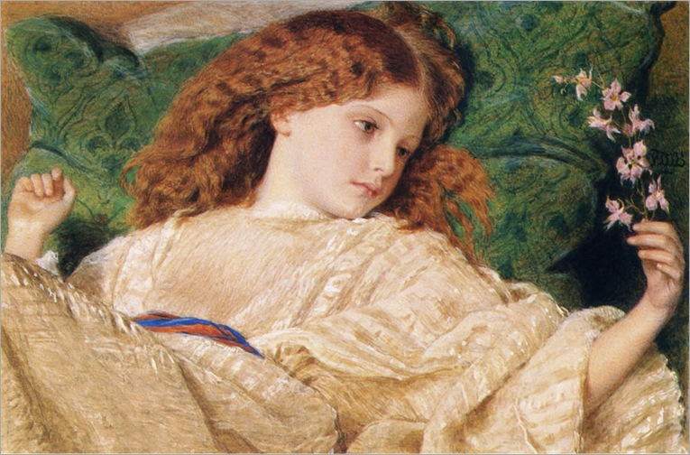 Burton_Sir_Frederick_William-Dreams_1861