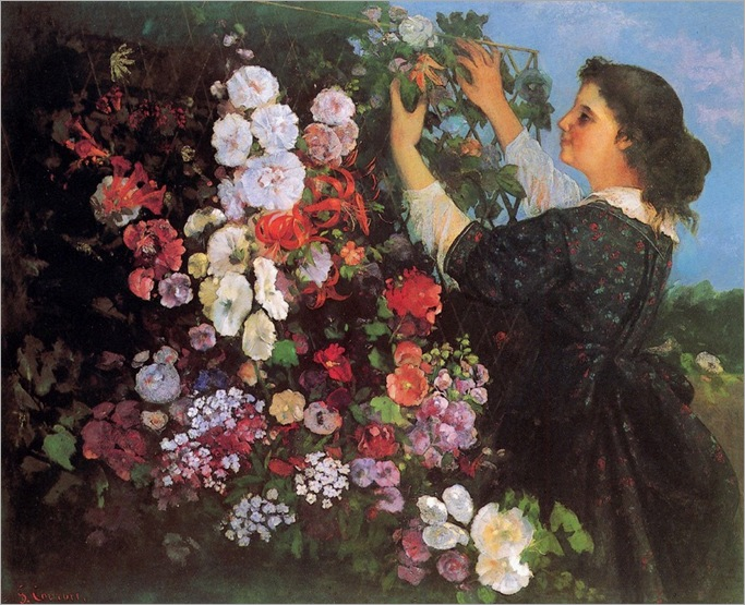 Courbet_Gustave_(France_Woman_with_flowers)