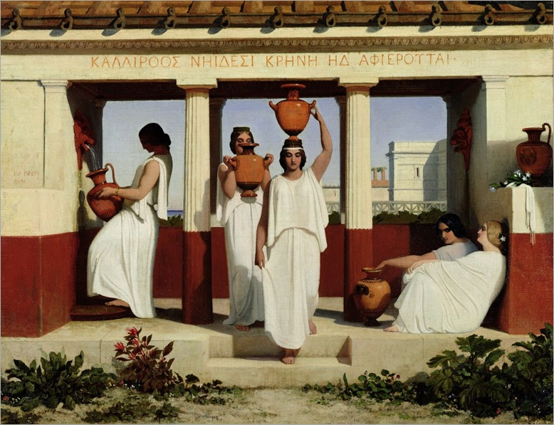dominique-louis-papety-greek-women-at-the-fountain