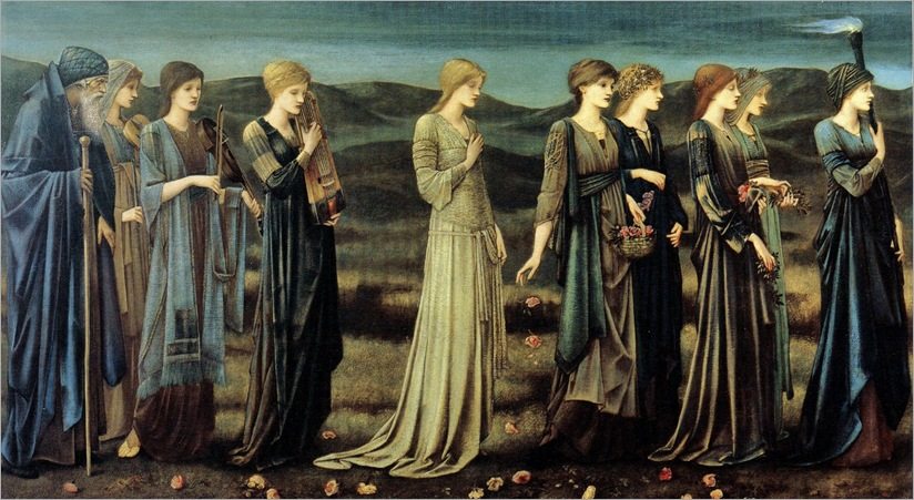 Edward Burne Jones - The Wedding of Psyche