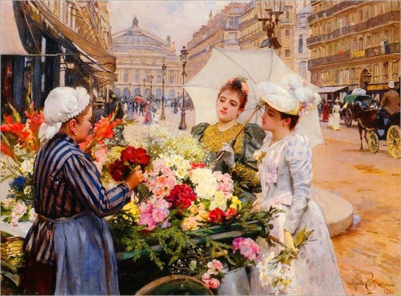Louis Marie de Schryver-Marchande De Fleurs, Avenue De L'Opera