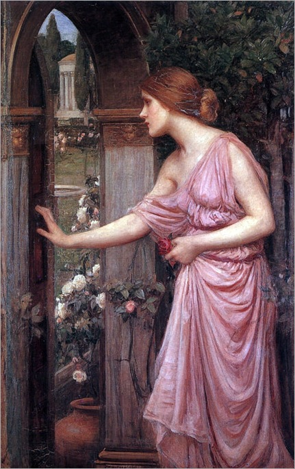psyche-entering-the-cupids-garden-john-william-waterhouse