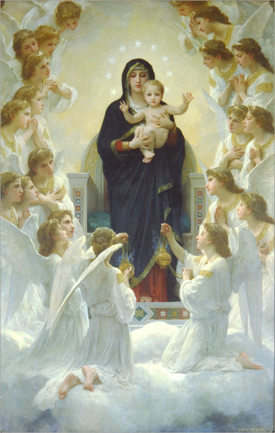 The Virgin with Angels, William-Adolphe Bouguereau