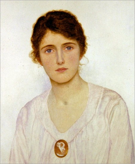 1q George Lawrence Bulleid (British artist, 1858-1933) The Cameo Brooch