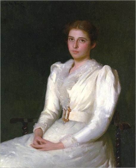 2 Frank W. Benson (1862-1951) Alice Bacon (Mrs W Stugis H. Lothrop 1891