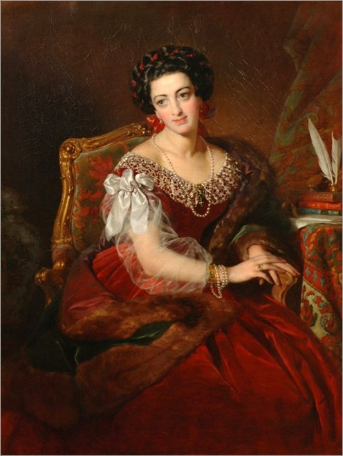 barbara,countess-of-castiglione-Friedrich-von-Amerling