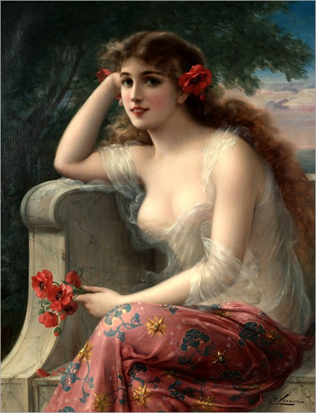 Emile_Vernon-Girl_with_a_Poppy (3)