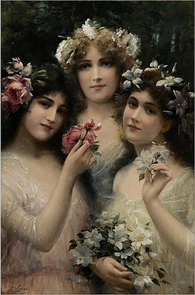 Emile_Vernon__The_Three_Graces