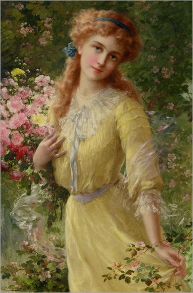EmileVernon_Emile_In_the_garden_1910
