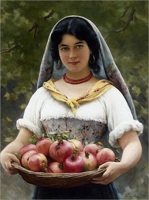 girl-with-promegranates-eugene-de-blaas