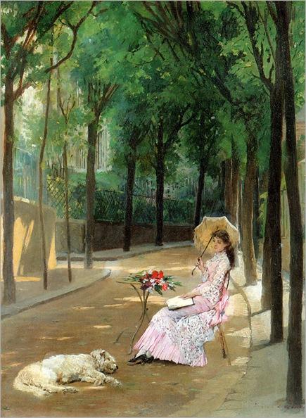 Gustave_Léonard_de_Jonghe_-_A_Lazy_Afternoon