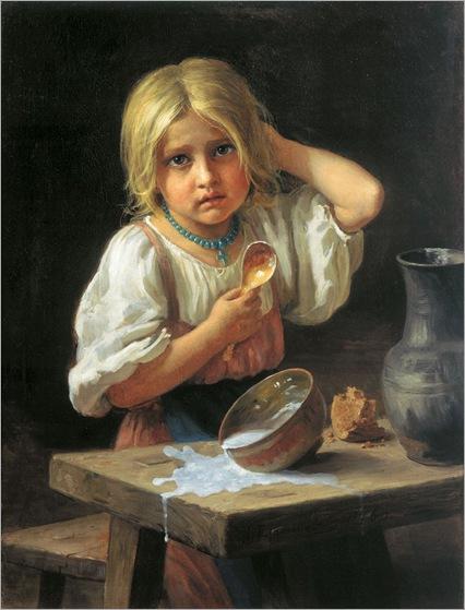 Hariton_Platonov_Krestyanskaya_Devochka_1876