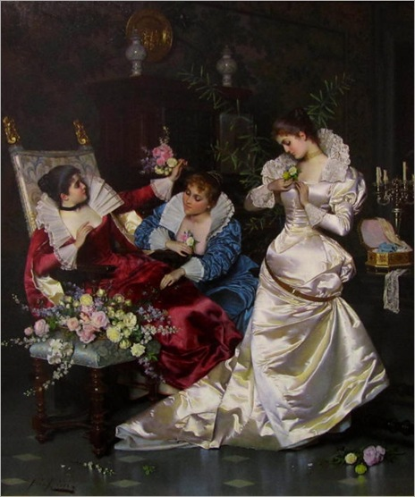 Pio Ricci-(italian-1850-1919)-before-the-weding