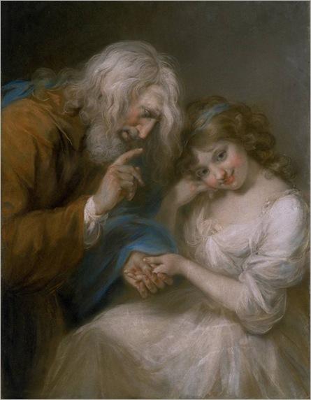 the-fortune-teller-John-Russell