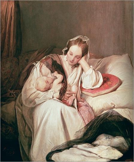 a-mothers-love-Josef-Danhauser