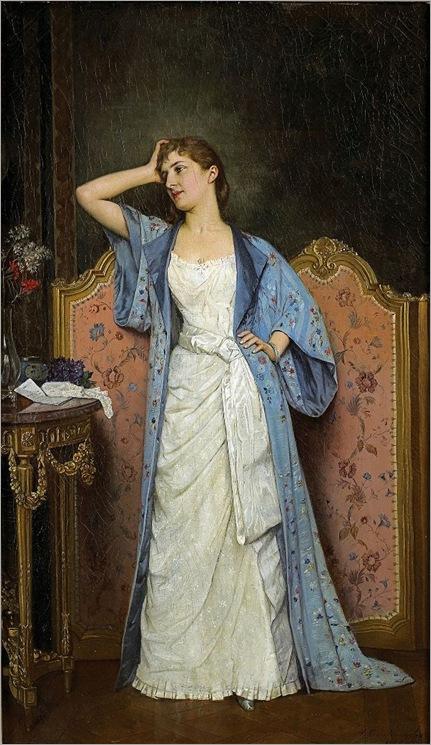 Auguste Toulmouche (d1890)_Young Woman