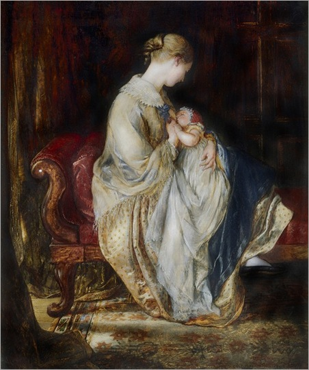 charles-west-cope-the-young-mother