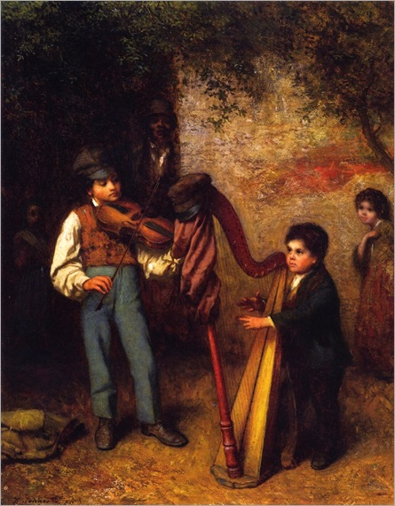 Eastman Johnson - 1862-the-young-musicians