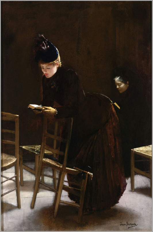 Femme en Priere por Jean Béraud 1877