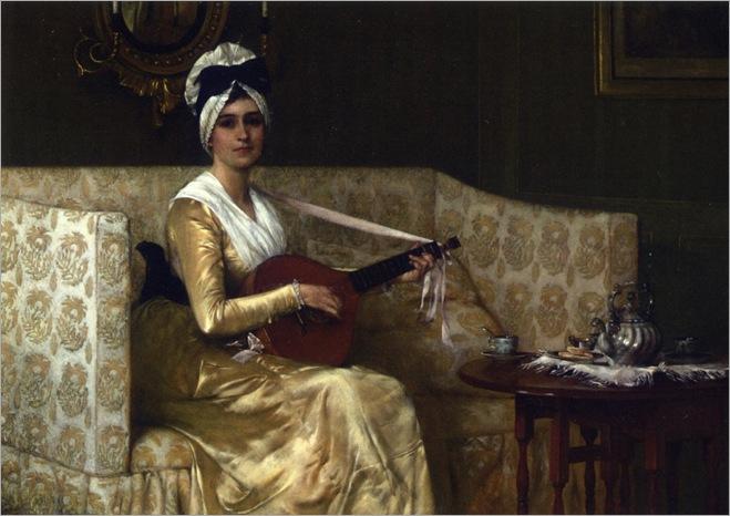 Francis Davis Millet - Portrait of Mrs_ Millet