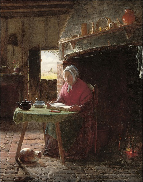 Frederick_Daniel_Hardy_(1826-1911)_-_Reading_by_the_fire